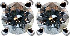 Second Hand 0.59ct Diamond Ear-Rings
