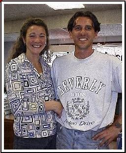 Terry Goodall and Dawn Boyne