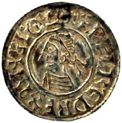 Silver Penny of Ethelred II