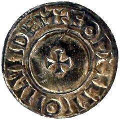 Ethelred II Silver Penny Short Cross Reverse