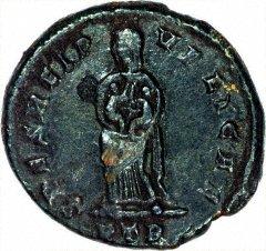 Providentia on Reverse of Antoninianus of Fausta
