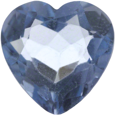 6x6mm Heart Shape Aquamarine