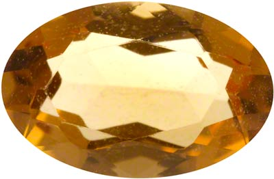 6x4 Oval Citrine