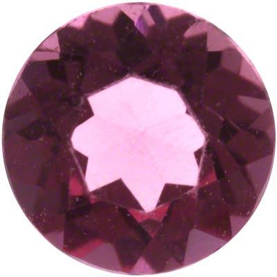 3mm Round Pink Tourmaline