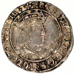 Henry VIII on a Silver Groat