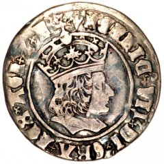 Henry VII on a Silver Groat
