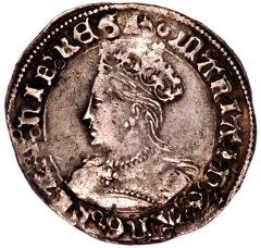 Silver Groat of Queen Mary