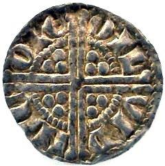 Henry III Silver Penny Long Cross Reverse