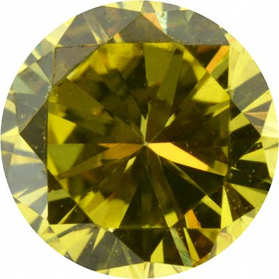 Enhanced Yellow Loose Diamond