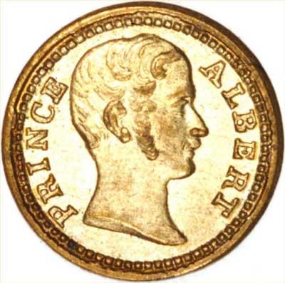 Model Coin of Prince Albert