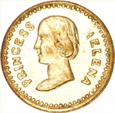 Model Coin of Princess Helena