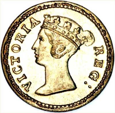 Model Coin of Queen Victoria