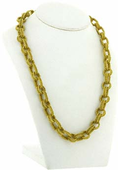 18ct Yellow Gold Estruscan Necklace