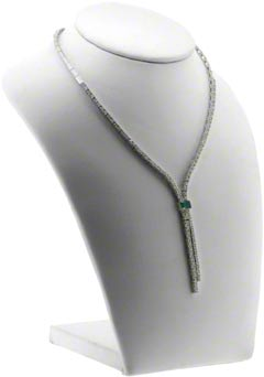 Fancy Diamond Drop Necklace