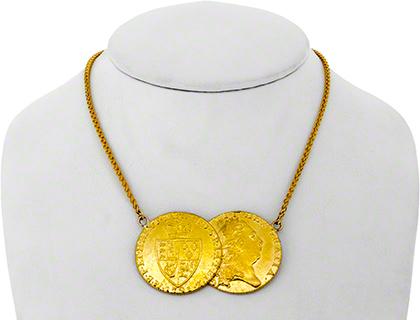 Double Guinea Necklace