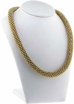 Chunky Mesh Necklace border=