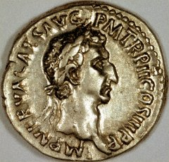 Portrait of Nerva on a Silver Denarius