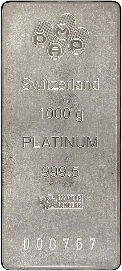 Pamp Platinum Kilo Bar