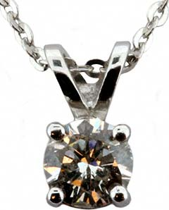 0.30ct Diamond Pendant in Platinum