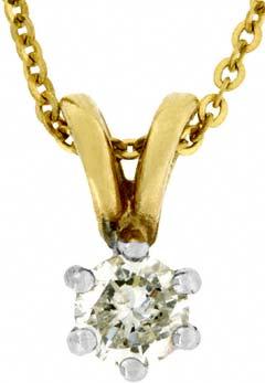 0.22 Diamond Pendant