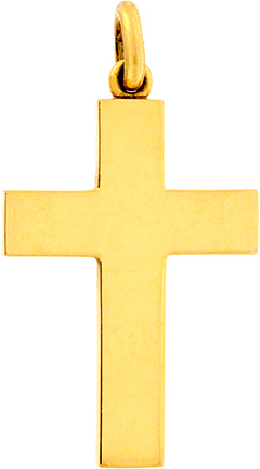 18ct Gold Cross