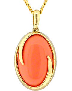 Second Hand Coral Pendant