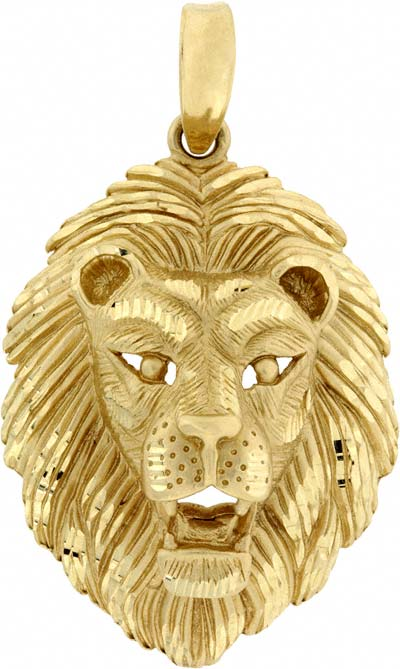 Second hand 14 carat yellow gold lion pendant 14 carat yellow gold lion pendant aloadofball Choice Image