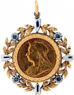 1899 Sovereign Pendant