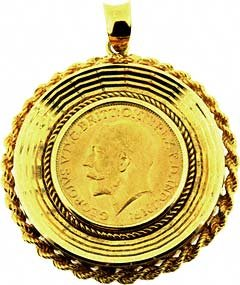 1912 Sovereign Pendant