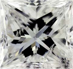 Flawless Princess Cut Diamonds