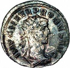 Portrait of Probus on Silver Antoninianus