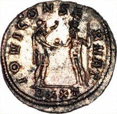 Jove on Silver Antoninianus of Probus