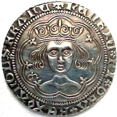 Reproduction Henry VI Groat Obverse