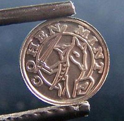 Rhodium 'Coin'
