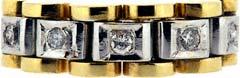 Gent's Five Stone Diamond Ring