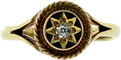 Diamond Set Dress Ring