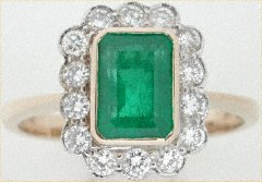 Emerald and Diamond Cluster