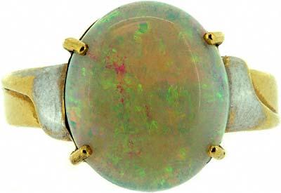 Second Hand Opal Dress Ring