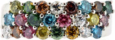Fancy Coloured Diamonds are Very Rare & Expensive