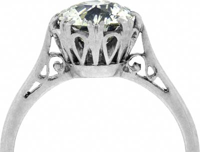 an overview of diamonds Diamond design, by marcel tolkowsky, defines the ideal cut diamond.