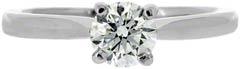 Second Hand Diamond Solitaire in Platinum
