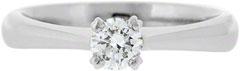 Diamond Solitaire in Platinum