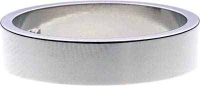 Flat Palladium Wedding Ring