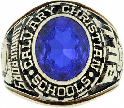 Quot Calvary Christian S School Quot College Ring