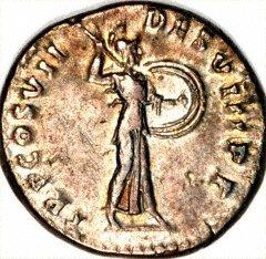 Reverse of Domitian Silver Denarius