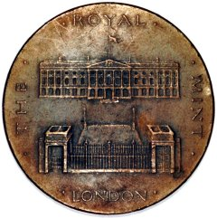 The Royal Mint at Tower Hill in London