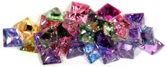 Pile of Multi-Coloured Sapphires