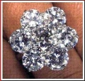 6 Carat Diamond Cluster