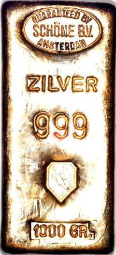 One Kilo Sch 246 Ne Silver Bullion Bars