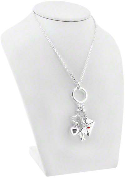 Silver Chain With Attachment Charms